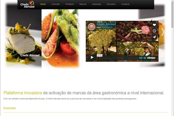 Microsite - Chefs Abroad