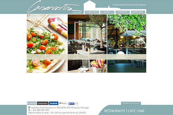 Site - Pizzeria Casavostra