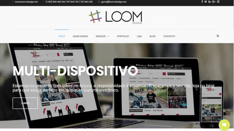 Novo Site Loom Design