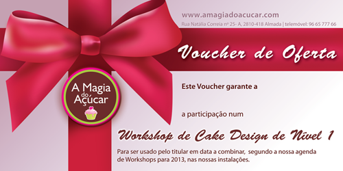 Voucher A Magia do Açúcar
