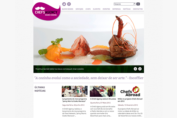 Site - Chefs Agency v1