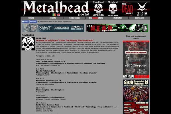 Metalhead Portal v1