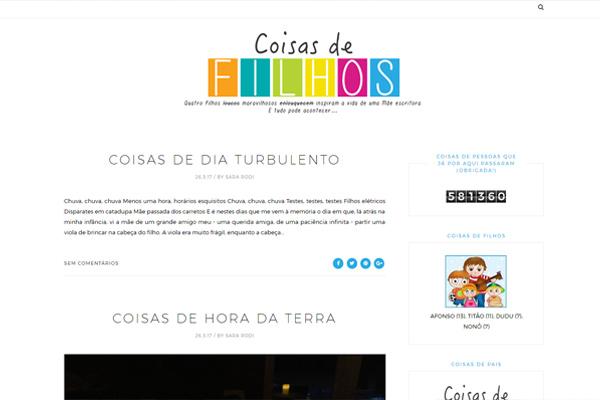 Blog - Coisas de Filhos