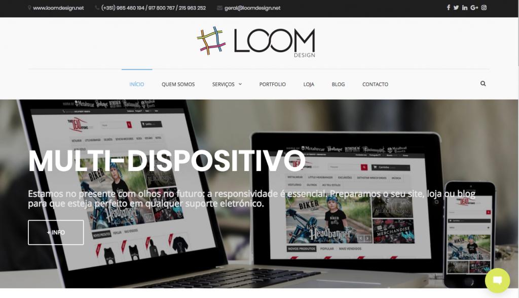 Novo Site Loom Design