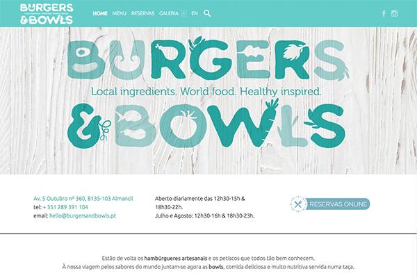 Burgers & Bowls