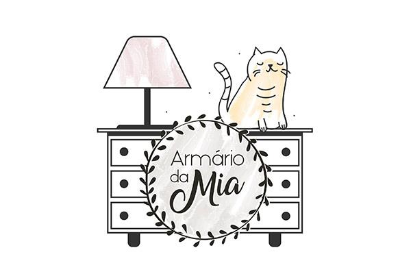 Armario da Mia - Logo